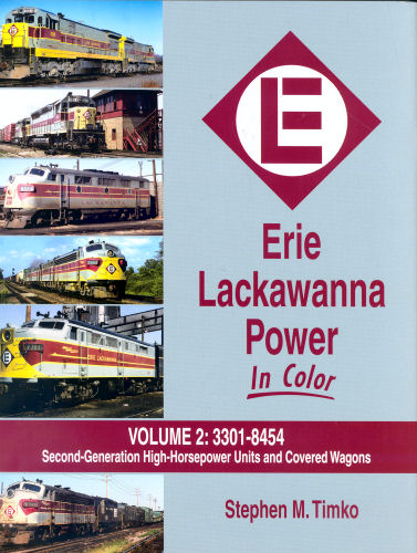 Erie Lackawanna Power in Color, Volume 2:  #3301-8454