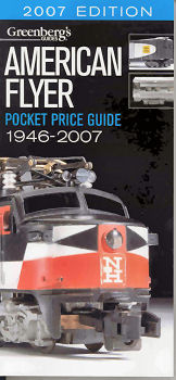 American Flyer Pocket Price Guide 1946-2007- Greenberg