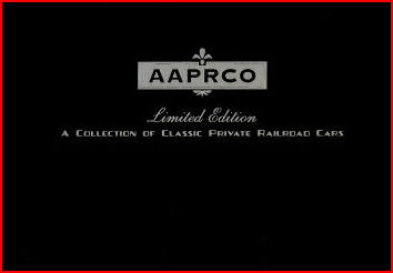 AARPCO Collection of Classic Private Railroad Cars