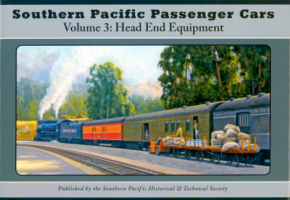 Southern Pacific Passenger Cars, Volume 3: Head End Cars