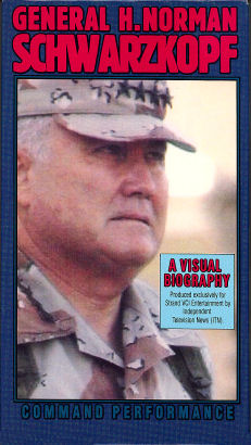 General H. Norman Schwarzkopf: Command Performance - VHS