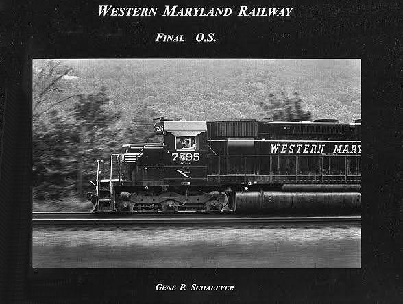 Western Maryland Railway, Final O.S.