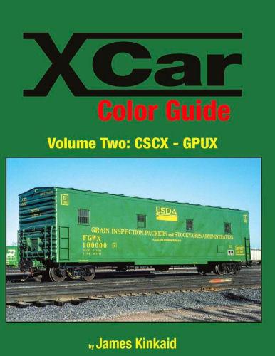 X CAR Color Guide, Volume 2: CSCX - GPUX