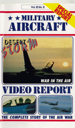 Desert Storm: War in the Air-Military Aircraft Series - VHS