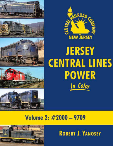 Jersey Central Lines Power in Color, Volume 2: #2000-9709