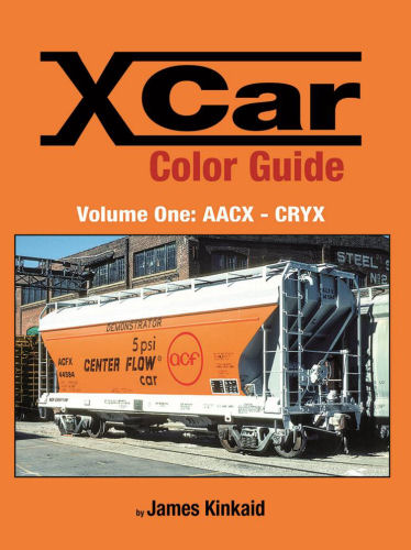 X Car Color Guide, Volume 1: AACX - CRYX