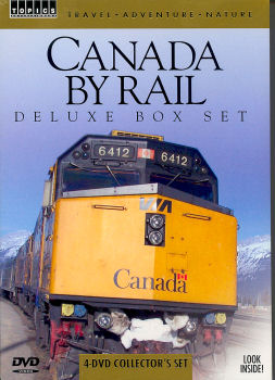 Canada By Rail - DVD - 4 Volume Set