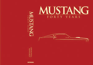 Mustang:40 Years Limited Edition Leatherbound Book
