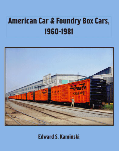 American Car and Foundry Box Cars, 1960 - 1981