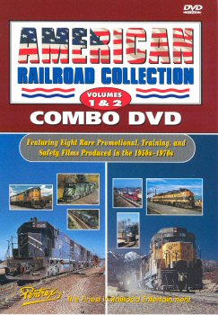 American Railroad Collection Combo Vol 1 & 2 - DVD