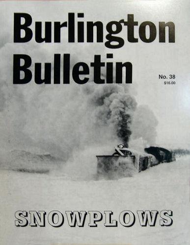 Burlington Bulletin, No. 38  Snowplows