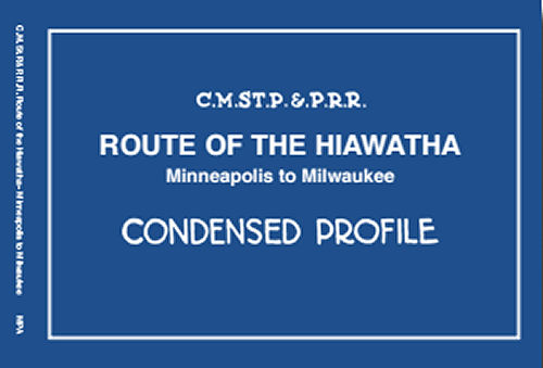 Route of the Hiawatha: Minneapolis to Milwaukee