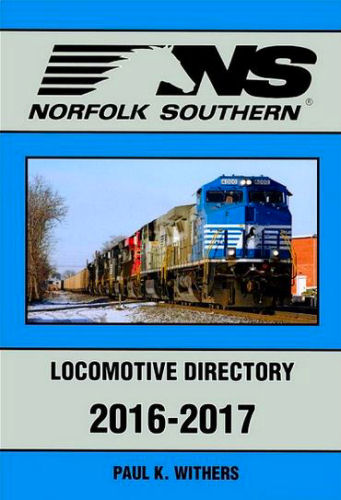 Norfolk Southern Locomotive Directory 2016 - 2017