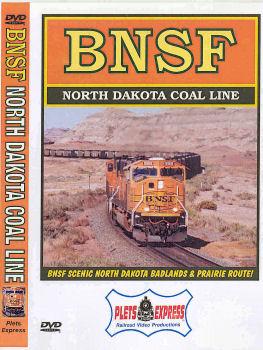 BNSF North Dakota Coal Line - DVD
