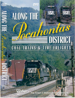 Along the Pocahontas District: Coal Trains & Time Freights - DVD