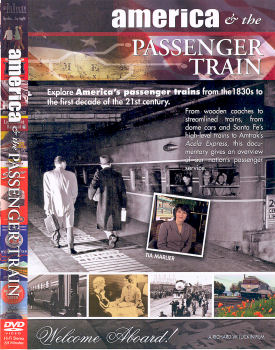 America & the Passenger Train - DVD