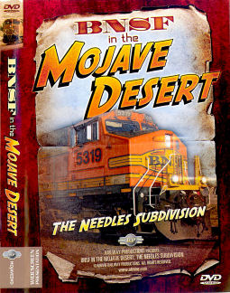 BNSF in the Mojave Desert - DVD