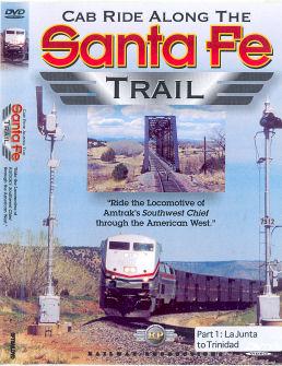 Cab Ride Along the Santa Fe Trail Part 1 La Junta to Trinidad - DVD