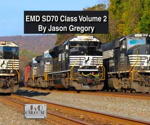 EMD SD70 Class Locomotives, Volume 2